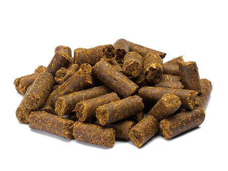 Maize distillers pellets